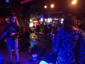 Maria the Mexican on stage at Knuckleheads