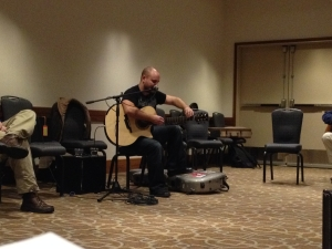 Andy McKee's Fingerstyle Class.  I did not miss his great concert either!